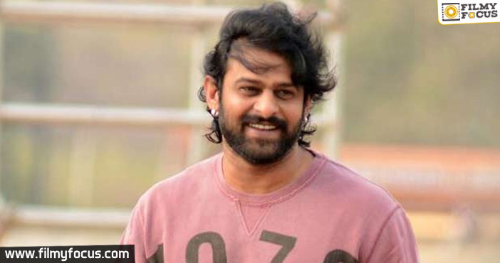 Prabhas21 Is Still In Scripting Stage