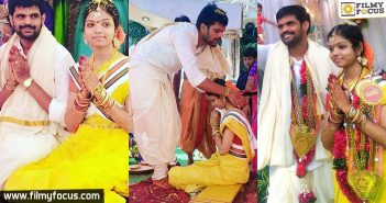 Rangasthalam Fame Mahesh Also Ties The Knot