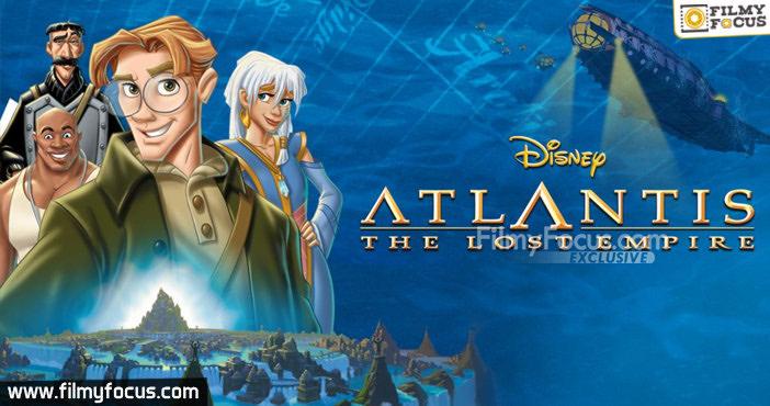24 Atlantis The Lost Empire Movie
