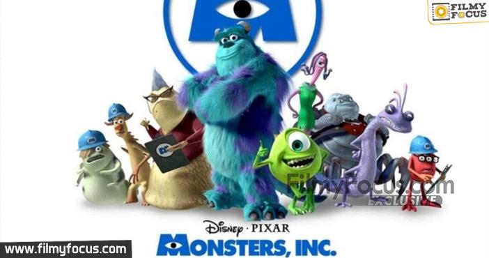 3 Monsters. Inc Movie