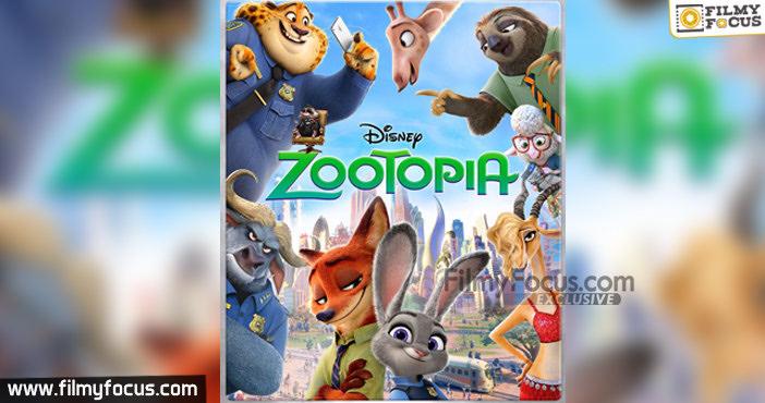 3 Zootopia Movie