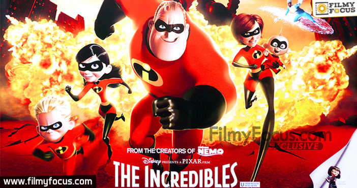 5 The Incredibles Movie