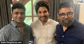 Allu Arjun And Team Decide To Shoot Indoors