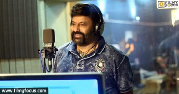 Balakrishna Sings For His Fans