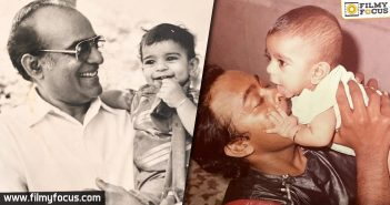 Chiranjeevi And Ram Charan Post Special Throwback Pics For Father's Day