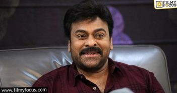 Chiranjeevi In Double Action Mode