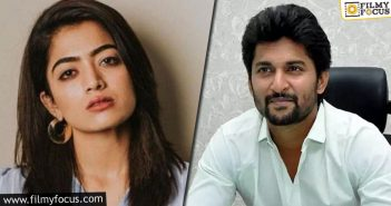 Has Rashmika Rejected Natural Star's Movie