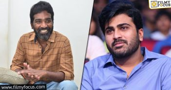 Kishore Tirumala And Sharwanand To Unite For A Film