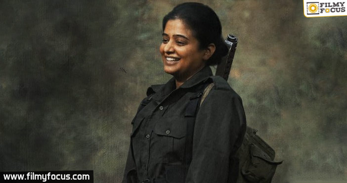 Priyamani Is Playing A Revolutionary Leader Role In This Love Story