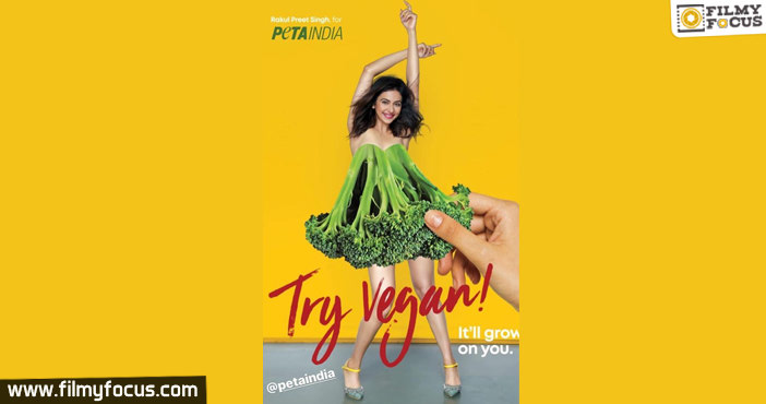 Rakul Preet Goes A Step Bolder To Promote Veganism1