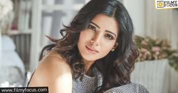 Samantha Slashes Down Her Remuneration