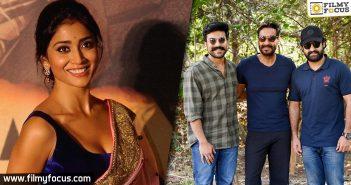 Shriya Saran Drops Hint About Her Involvement In Rrr