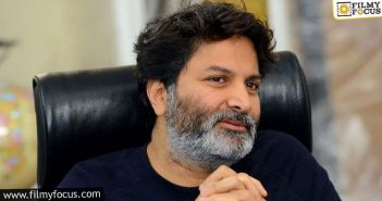 Trivikram Srinivas Considering Other Options