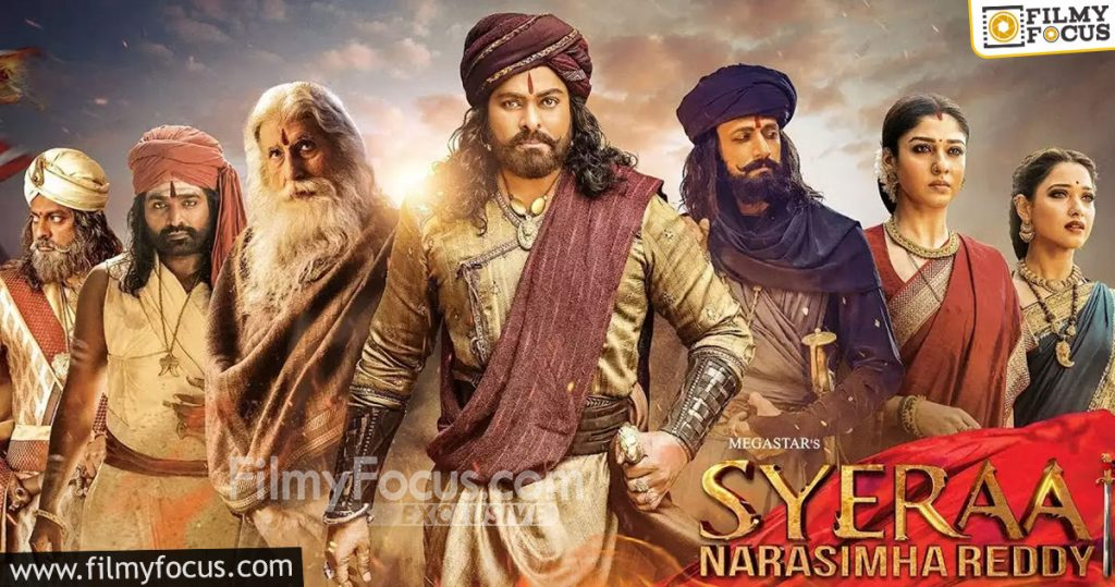 6 Sye Raa Naarasimha Reddy Movie