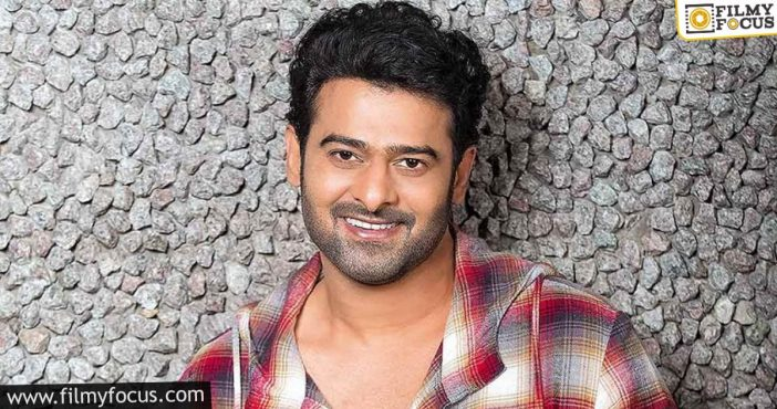 Director Confirm For Prabhas Bollywood Entry