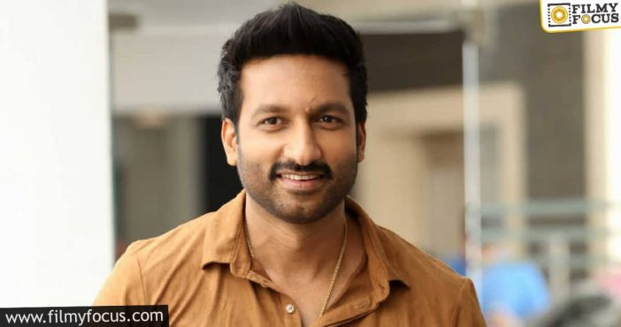 Gopichand To Do A Film With A Successful Director
