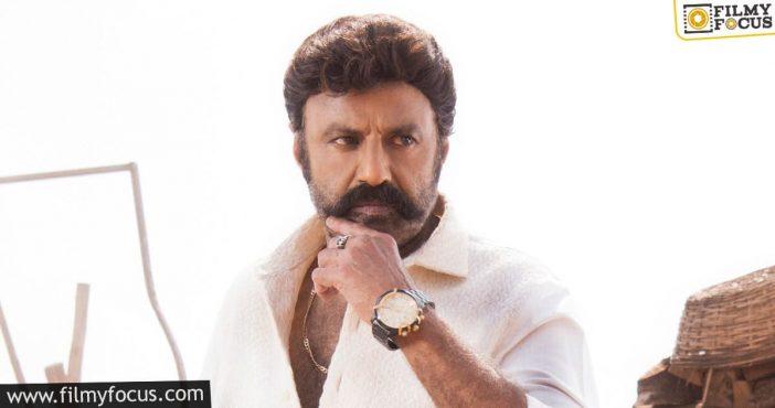 Hint On Balayya Boyapati Movie Shoot Resume Date