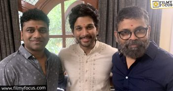 Music Sittings Complete For Allu Arjun's Pushpa