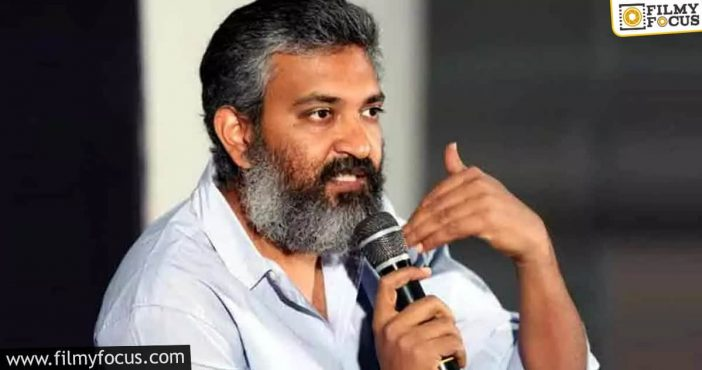 Rajamouli Monitoring Rrr Animation Works