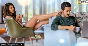 Romantic Look Poster Of 'most Eligible Bachelor' Out Now