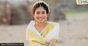 Sai Pallavi Will Not Have A Release This Year
