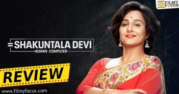 Shakuntala Devi Movie Review Eng