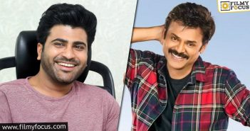 Sharwanand To Replace Venky For A Project