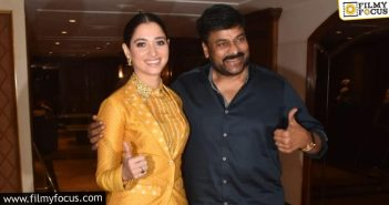 Tamannah's Special Surprise In Acharya