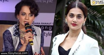 Tapsee Vs Kangana Whom Do You Support