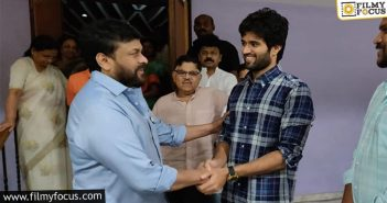 Vijay Deverakonda Roped In For Chiranjeevi's Project