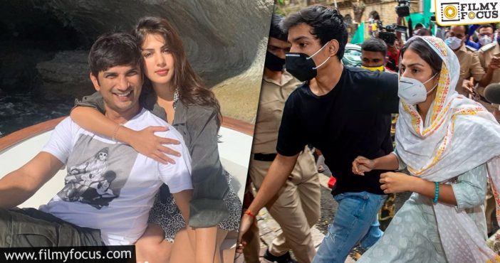 Cbi Grilled Rhea Chakraborty About Drugs And Break Up
