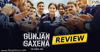 Gunjan Saxena The Kargil Girl Movie Review Eng