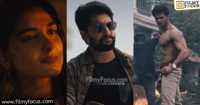 Nani's V Movie Trailer Review1