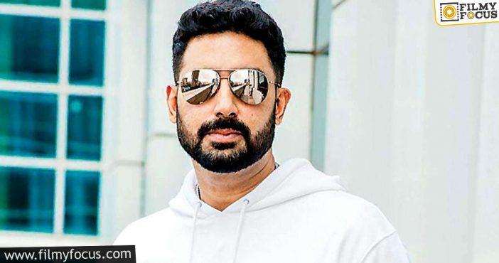 Now, Abhishek Bachchan Beats Covid 19 Scare