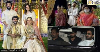 Ram Charan, Naga Chaitanya And Bunny Don't Miss Rana's Wedding