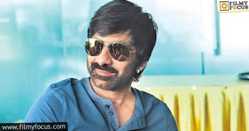 Ravi Teja Is Determined To Make A Strong Comeback