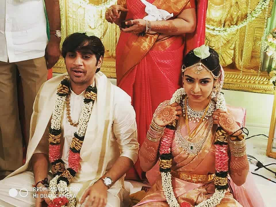 Saaho Director Sujeeth Got Married To Pravallika1
