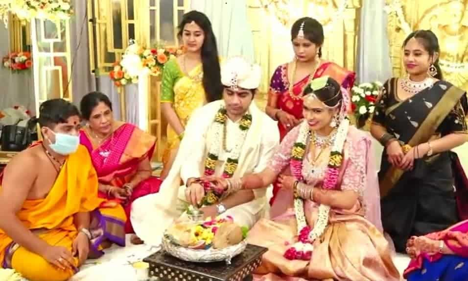 Saaho Director Sujeeth Got Married To Pravallika2