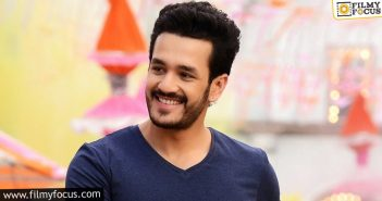 Akhil5 To Be An Action Entertainer But