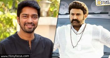 Allari Naresh To Be A Part Of Balayya's Next
