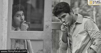 Allu Sirish's Dynamic Pose With Cigar In Mouth