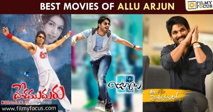 Best Movies Of Allu Arjun