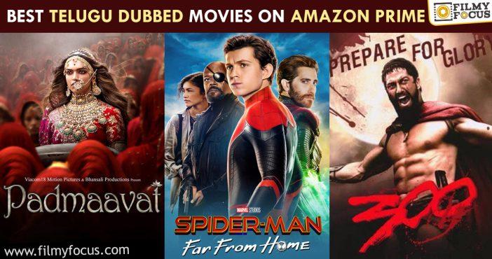 Best Telugu Dubbed Movies On Amazon Prime