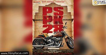 Concept Poster Of #pspk28 Is Here, Looks Terrific