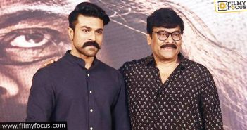 Has Chiru Asked For Charan's Role' Extension In Acharya