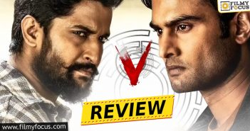 Nani V Movie Review And Rating