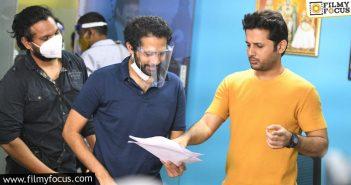 Nithiin Resumes Rang De, Confirms Sankranthi Release