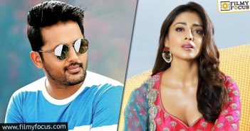 Nithiin To Act With Shriya In His Next