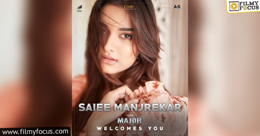 Saiee M Manjrekar Has Been Roped In To Play An Important Role In Major Movie