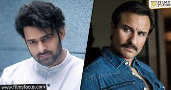 Saif Ali Khan To Return As The Menacing Villain For Adipurush